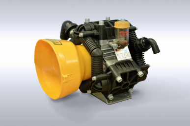 Hochdruck Anbauspritze Tamigi 600L, Pumpe Bertolini 2120