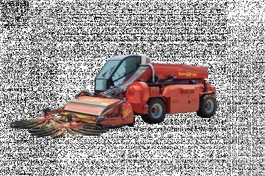 Machine automotrice avec récolteur mécanique - Super Jolly 4×4 avec tamis