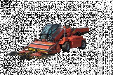 Machine automotrice avec récolteur mécanique - Super Jolly 4×4 avec double bande transporteuse