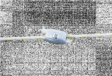 Raccord de jonction pour fils et cordelettes jusqu'à ø 7-8mm en acier inoxydable