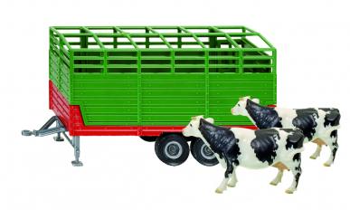 Remorque à bétail Siku 1:32