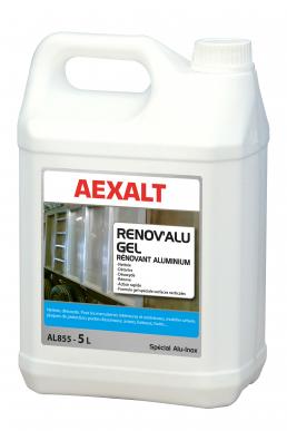 Rénovant aluminium RENOV'ALU GEL Bidon 5 L