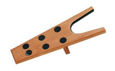 Stiefelauszieher aus Holz