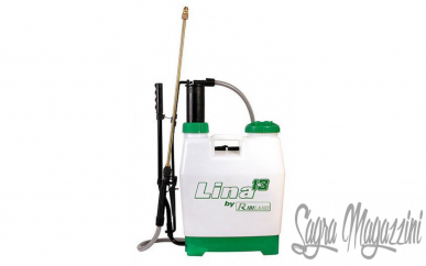 Ribimex Pulvérisateur d'épaule 14Lt Lance 1,20Mt Herbicide à jet réglable pour pulvérisateur