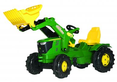 Tracteur RollyFarmtrac John Deere 6210R + chargeur avant ROLLY TOYS