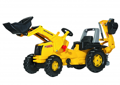 Tracteur New Holland Construction RollyJunior ROLLY TOYS