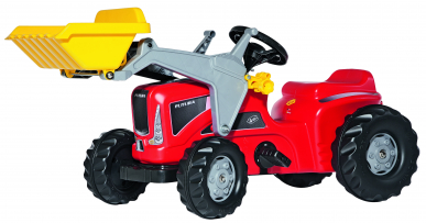 Tracteur RollyKiddy Futura Trac avec chargeur ROLLY TOYS