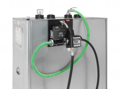 Unitech-Tank mit Pumpe Diesel/Heizöl vormontiert 400-1500 L