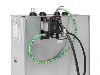 Unitech-Tank mit Pumpe Öle/ Schmierstoffe vormontiert 400-1500 L