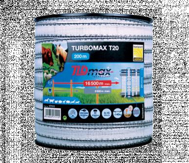"""Ruban 20mm TLD max technology, """"TURBOMAX T20"""", bobine de 200m"""