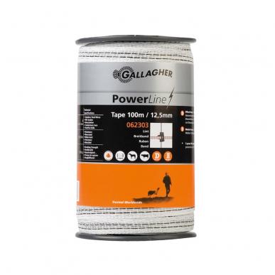 PowerLine Breitband 12,5mm 100m weiß