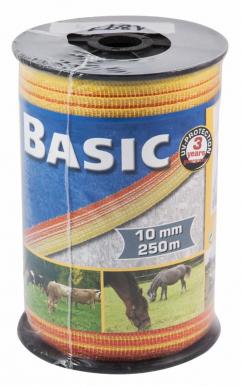 "Ruban de clôture ""Basic"" 10 mm - 250 m"