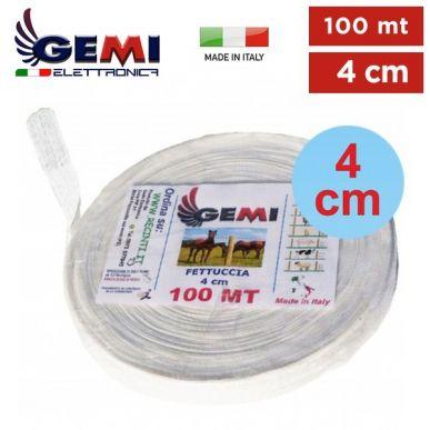 Gurtband 4 Cm 100 MT - für Elektrozaun