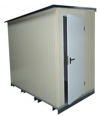 SAS sanitaire 3m² - Monté - SANS ACCESSOIRE