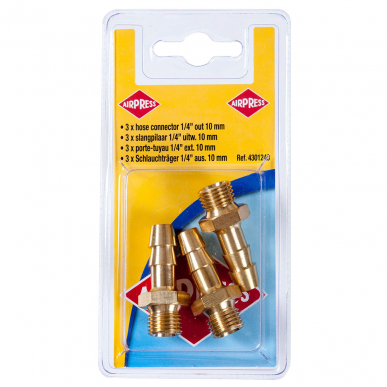 "Blister porte tuyau 1/4"" 10mm"