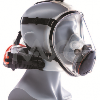 Demi-masque respiratoire Cleanspace ™ ULTRA avec protection IP66