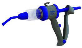 Seringue pistolet avec tuyau médical 30 mL, réglable