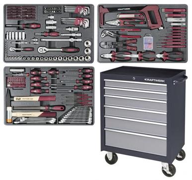 Servante professionnelle avec 337 outils