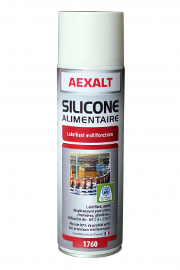 Silicone alimentaire lubrifiant multifonctions  Aérosol 650 mL