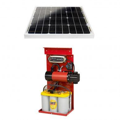Solarpumpenset, SOLARMAxx 54 L/min, 12 V Gleichstrom,30 W