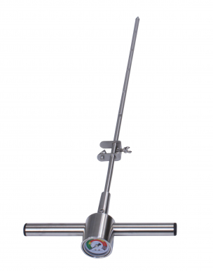 Sonde de sol pour déterminer le compactage du sol / Pénétromètre