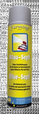 Spray désinfectant bleu 400mL