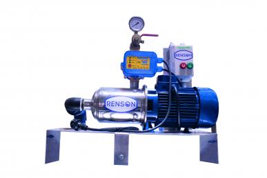 Station de lavage sans cuve et régulateur hydroélectrique