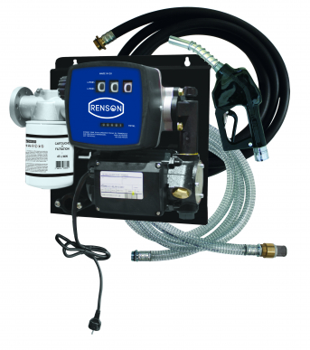 Station fuel 230V - 50L/min - Filtration - Kit aspiration