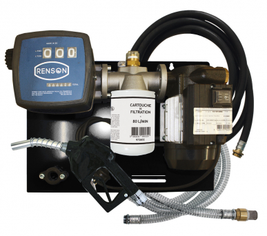 Station fuel 70 L/min - Filtration - Kit aspiration flexible 6m