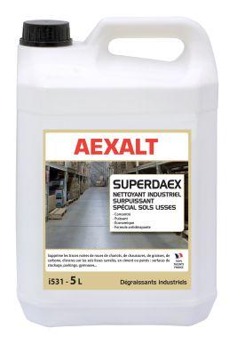 Nettoyant industriel surpuissant sols lisses SUPERDAEX Bidon 5 L