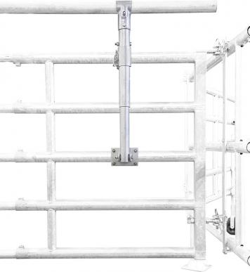 Support pour tube suppl. pour panneaux et barrières