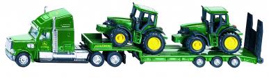 Camion avec tracteurs John Deere Siku 1:87