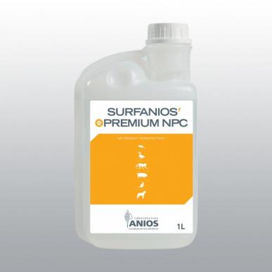 Détergent sols, surfaces et matériels Surfanios Premium NPC - 30 flacons doseurs de 1 litre  - lot de 6*5 produits