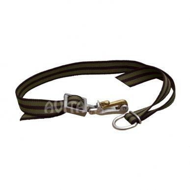 SWISS Halsband mit Schweizer Karabinerhaken