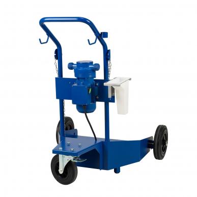 Set pompe AdBlue / urée  35L/min - Avec chariot (charge max 200L)