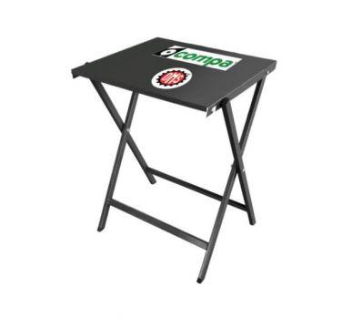 Tavolino pieghevole portatile 55x58x75/80cm