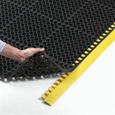 Gummi-Rutschmatte für die Lebensmittelindustrie - 91 x 91 cm