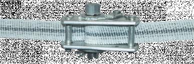 Tendeur d'aluminium pour ruban de 10mm et 20mm
