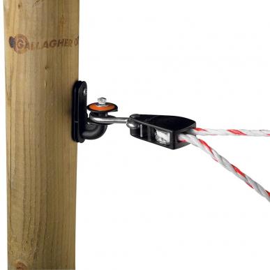 Tendeur pour cordon avec isolateur