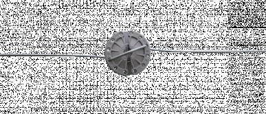 Tendeur, rotatif pour fil de fer et cordelette jusqu'à 5mmø