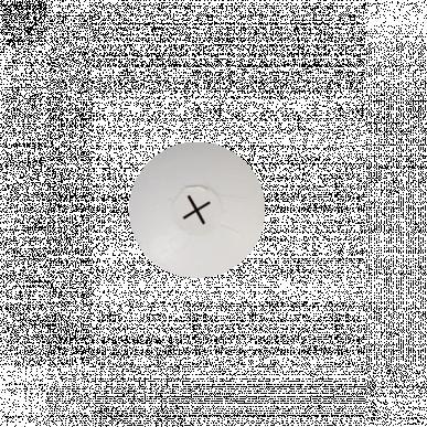 Tétine à veau blanche 100mm