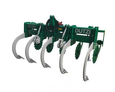 Chisel FL 3000 (5 dents) : technologie innovante, complet avec suspension à trois points, supports de fixation et bras supérieur mécanique