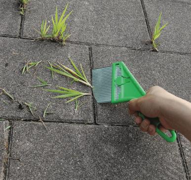 Trancheuse de mauvaises herbes pour le désherbage écologique