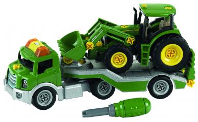 Tracteur avec transporteur John Deere - Theo Klein