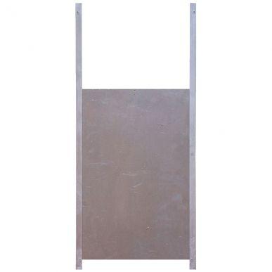 Aluminium-Ausstiegsluke 50 x 33 cm