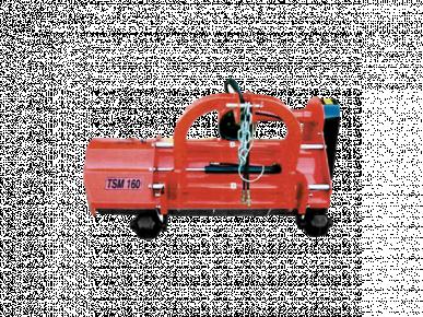 Broyeur d'herbe avec déport hydraulique - TSP 160
