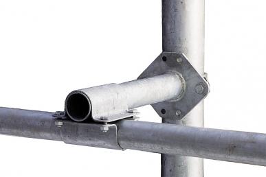 Tube espaceur pour barre garrot surpoteaux 90 x 90 mm, pièces de montage incluses