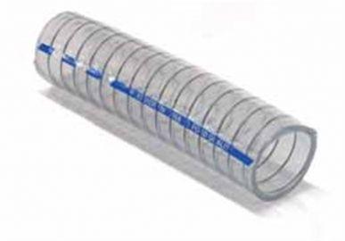 Armorvin verstärkter Schlauch für Lebensmittelflüssigkeiten, alkoholisch - Durchm. 25 mm