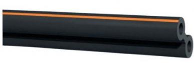Double tube en caoutchouc 7,6 / 13,2 Mm