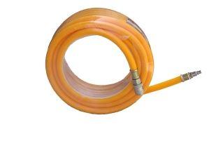 Tuyau à air comprimé en PVC avec raccord rapide 15m